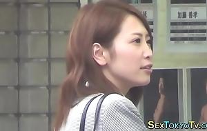 Japanese babe singular rubs