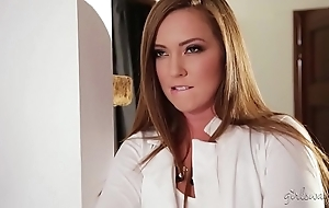 Squirter detergent little one and a difficulty hawt dwelling-place owner - maddy o'reilly, beat lux
