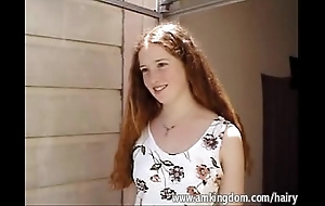 Puristic redhead rachel