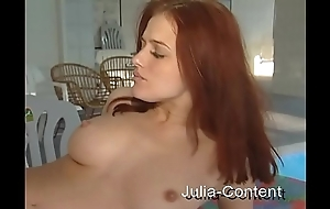 Redhead was drilled nearly wellness-room