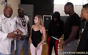 Carolina confectionery interracial team fuck