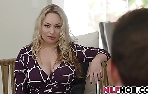 Eminent bowels stepmom shows 'em everything