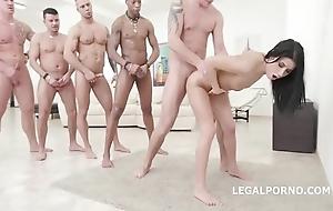 Nicole felonious - 10on1 dap group-sex plus balls abyss anal