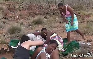 Perfect african safari sex fuckfest