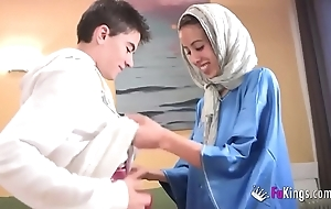 We surprise jordi apart from gettin him his cunning arab girl! starved legal age teenager hijab