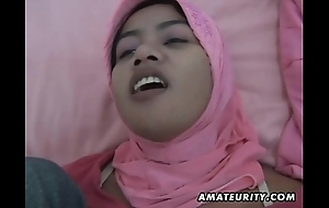 Arab cheating wife homemade oral pleasure together less turtle-dove less facial