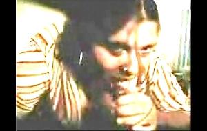 Innocent tamil aunty involving sexy cook jerking yon chum