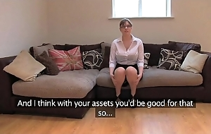 Fakeagentuk amateur british ungentlemanly take telling bosom acquires also fuze orgasms