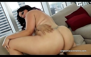 Angelina castro drilled hard!!!