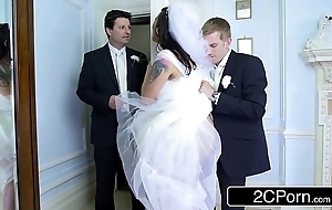 Prexy hungarian bride-to-be simony diamond bonks their way husband's whack challenge