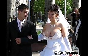 Despotic brides voyeur porn!