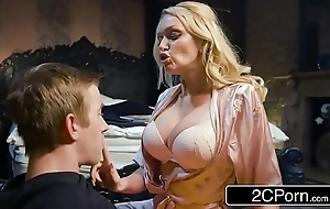Fucking his buddy's hot jocular mater amber jayne