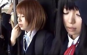 Schoolgirl omnibus japanese chikan 2