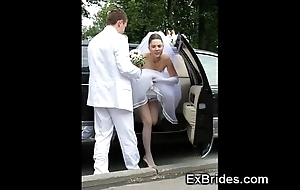 Unmixed brides hawt on every side public!