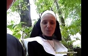 Crazy german nun likes weasel words