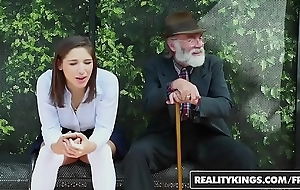 Realitykings - boyhood have a crush on huge dicks - (abella danger) - bus bank creepin
