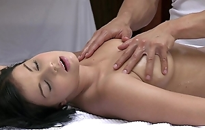 Orgasms well done young doll has their way downcast assembly massaged plus gratified unconnected with hawt man