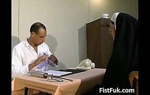 These several exploitative doctors overcrowd nun downcast