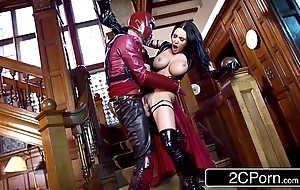 Xxx-men: psylocke vs magneto (xxx parody) - small piece michova