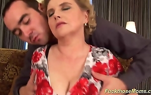 Fat gradual mam acquires forlorn drilled