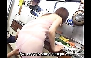 Cmnf traitorous japanese tie the knot kitchenette foreplay subtitled