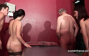 Youthful french women gangbanged and sodomized involving 4some nearby papy voyeur
