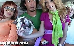 Bangbros - halloween with jada stevens nearly a obese pain in the neck dominated palace