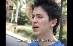 Sexy teacher bonks a freshman