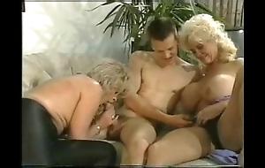German grown-up threesome