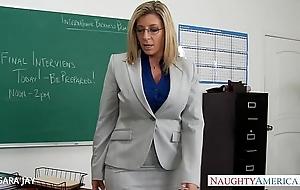 Milf teacher sara Psychology retardate fellow-feeling a amour student