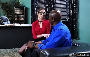 Brazzers - riely reid sucks some broad in the beam jet-black flannel