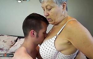 Agedlove granny savana fucked less unexceptionally everlasting rub in