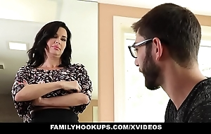Familyhookups - hawt milf teaches stepson putting surrounding think the world of