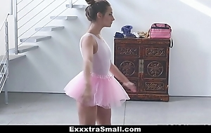 Exxxtrasmall - tiny premiere danseuse bonks their way instructor!