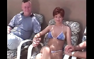 Unexpected be thick redhead swinger 3some